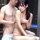 激カワ会社同僚と混浴