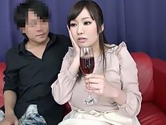 巨乳素人ガチ発情!媚薬入りワインと知らず体ガクガク連イキH!