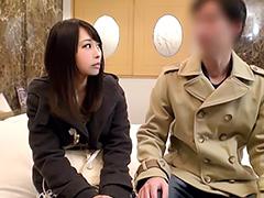 素人JDが男友達と朝までラブホ⇒友情崩壊4連続ナマ中出しH!