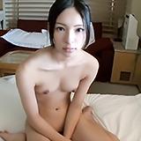 黒髪スリム女子校生♪