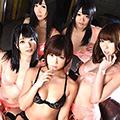 超人気6女優と極エロ逆3P!