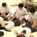 クラスメイトと中出し授業!?
